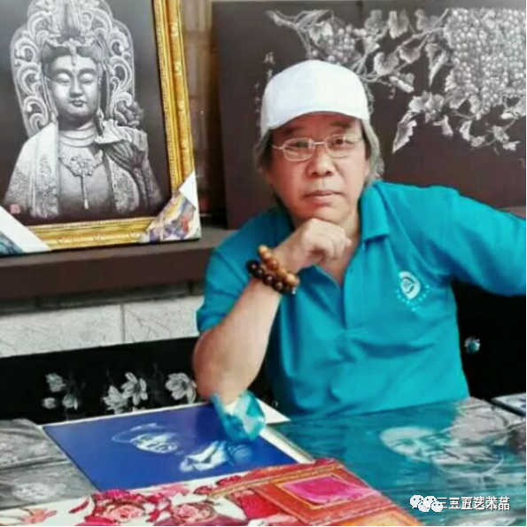 黑龙江三五艺术品有限公司红色文化主题作品(一):《孙忠和 十大将军铝板影雕艺术精品展》