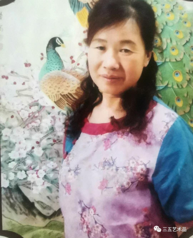 三五藝術品:中國著名花鳥人物畫家藍馨老師十二生肖作品賞析