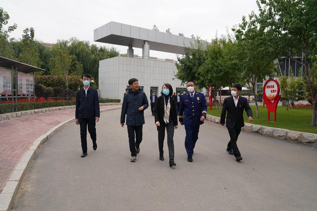 2021年09月30日,副市長王昊昱到我校開展調研工作