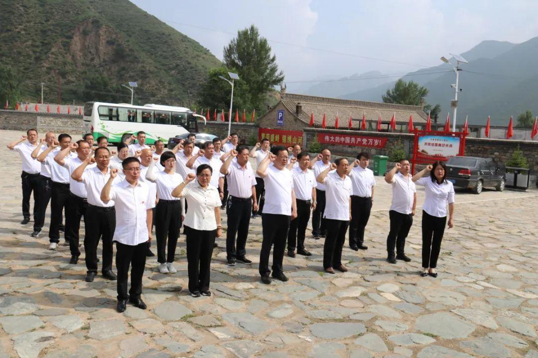繁峙县教科局机关党支部组织全体党员赴毛主席路居伯强纪念馆参观学习
